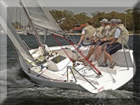 BW8 Match Racing Yacht